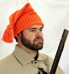 Blaze Orange Voyageur's hat  CA-122, Jas. Townsend and Son, Inc.