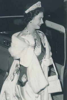 Queen Elizabeth II in Charlottetown, 1959