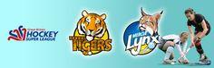 We weork with Super League Hockey and Hockey England.