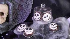 Skelett Cupcakes Rezeptidee für Halloween