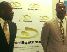88 UVI alums Ian Tomlinson and Reginald Vigilant '88, owners of OmniSystems,  provider of enterprise level IT products and services in the United States Virgin Islands.