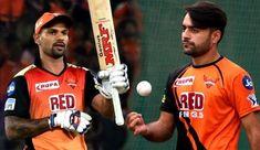 Used to Rashid Khan's bowling, enjoyed dominating him: Shikhar Dhawan Shikhar Dhawan, Lucky Man, Cricket News, Sunrises, Hyderabad, Afghanistan, Bowling, India, Blue