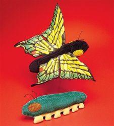 Caterpillar/Butterfly Puppet by Folkmanis Puppets at www.stuffedsafari.com