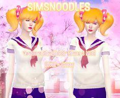 yansim yandere simulator rival imouto osana chan sims 4 mod hair cc download sims4