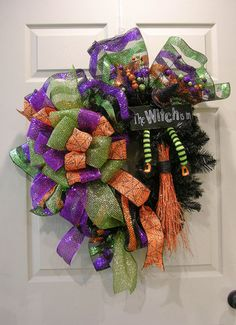 The Witch is In Wreath – MilandDil Designs