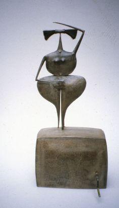 Philippe Hiquily The Ravadja - 2000:  H.55 x L.24 x P.11 cm.