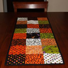 Trick or Treat Quilted Table Runner by AngelasExpressions on Etsy