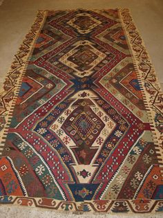 Antique Turkish Malatya Kilims, Outstanding Colour And Design, Late Century. Rugs On Carpet, Carpets, Social View, Antiques For Sale, Kilims, Antique Photos, 19th Century, Bohemian Rug, Felt