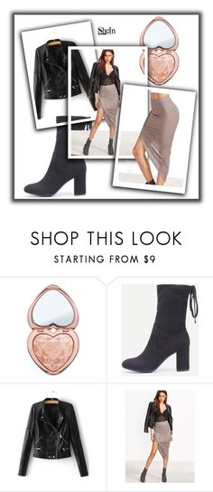 """Shein 6"" by ermina-camdzic ❤ liked on Polyvore featuring Too Faced Cosmetics, WithChic and shein"