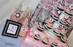 black and white themed party - Google Search
