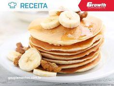 Panqueca de banana Ingredientes: 1 banana média 2 ovos inteiros Canela a gosto Como preparar: Misture os ingredientes no liquidificador Aqueça uma frigideira antiaderente Em fogo baixo jogue a mistura na frigideira e cozinhe cada lado por igual Ficha nutricional Proteínas: 12g Carboidratos: 27g Gorduras: 8g Calorias: 231kcal #growth #teamgrowth #gsuplementos #receita #lifestyle #dicasfitness #pizzaproteica #wheyprotein #sobremesa #foco #dieta #sobremesa #bodybuilding #bodybuilder #musculo…
