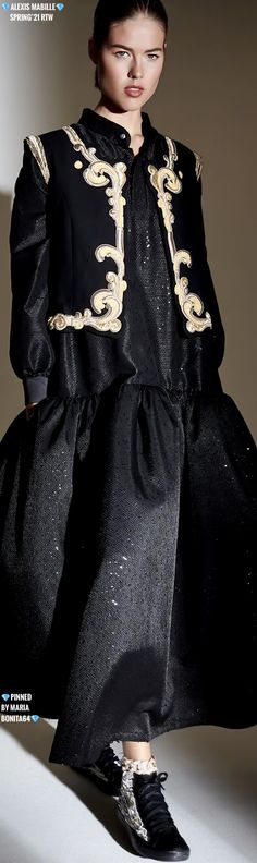 Alexis Mabille, Just Be Happy, Gold Fashion, Coat, Collection, Black, Dresses, Vestidos, Sewing Coat