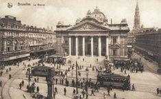 rue neuve bruxelles Place de la Bourse