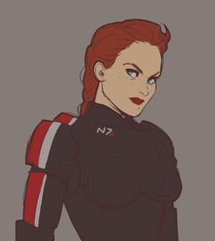 Female Comic Characters, Sci Fi Characters, Fictional Characters, Mass Effect 2, Mass Effect Universe, Character Inspiration, Character Art, Character Design, Commander Shepard