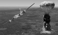 Moments after the atomic bombing of Hiroshima, Japan. The Greatest War Crimes Of The Modern Era  Hiroshima & Nagasaki Atomic Bombings: Established USA As The Military Arm Of New World Order