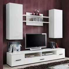 mueble lcd-mesa de tv-vajillero modular led - rack moderno