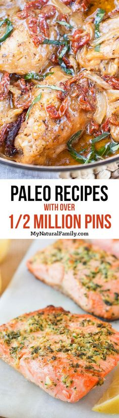 These have got to be the best Paleo recipes ever! I need to make all these recipes. . .