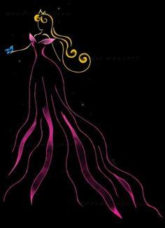 Ribbon Art - Aurora ♊️ (Credit: Mandie Manzano @deviantART)