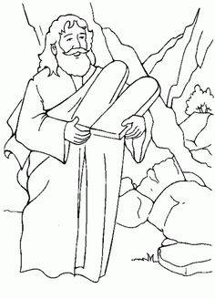 Ten Commandments Coloring Pages 16eol529 HD Printable