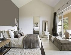 White + grey bedroom by tisha