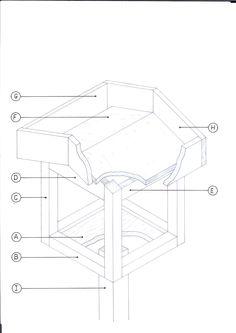 Meneer vogel wil graag een tafel voor twee, mevrouw bijenkoningin reserveert het liefst een suite voor zichzelf en haar gevolg. In de nieuwste Seasons Tuinen – vanaf vandaag in de winkel, staat een prachtige zelfmaker met een voedertafel én een insectenhotel. Materiaallijst vogel- en voederhuisje 1x A: 31,2 x 31,2 x 1,8 cm. (multiplex watervast...