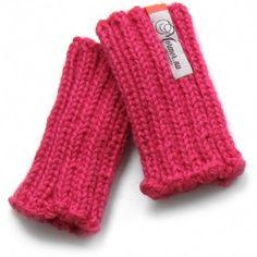 leg warmers (pink alpaca)