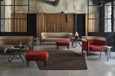 Targa Sofa and lounge chair – Gebrüder Thonet Vienna Lounge Chair dimensions.