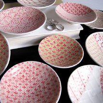 Pink Ceramic Dishes