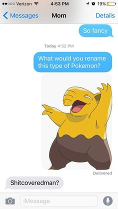 Drowzee looked like he was covered in shit to one mom: | We Had Parents Name…