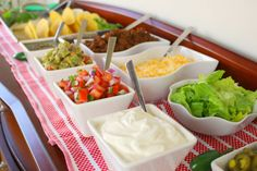 Learn how to make tacos and build the ultimate taco bar for your next Tex-Mex feast or Cinco de Mayo party with this taco bar ideas guide from Food.com.