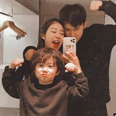 Father And Baby, Dad Baby, Cute Family, Family Goals, Korean Couple, Korean Girl, Cute Outfits For Kids, Cute Kids, Little Babies