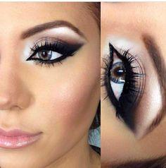 Makeup perfection!  fashion woman