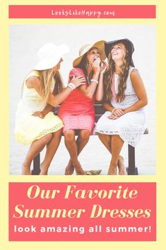 Our Favorite Summer Dresses - be comfy & stay cool all summer long with these great dresses!  #dresses #fashion