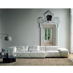 Extrasoft sofa designed by Piero Lissoni for Living Divani.