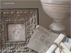 shabby picture frame
