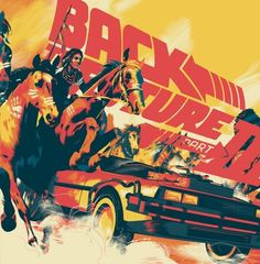 Mondo - Back To The Future 3 Matt Taylor