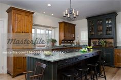 Period style cherry kitchen cabinetry - Google Search