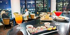 """Revolving BonaVista Lounge: 34th-Floor Drinks & Apps A """"classic LA thing to do"""" with 360 degree views of the city (Time Out Los Angeles)"""