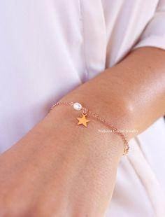 LITTLE STAR Bracelet-925 sterling silver, minimal capsule by MelaniaGoriniJewelry