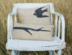 couch pillows or for a chair in a guest room...