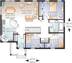 planos de casas de una planta 3 dormitorios - Buscar con Google