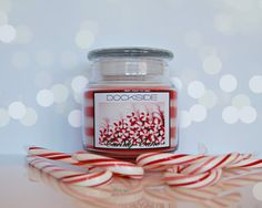 CANDY CANE / RED & WHITE STRIPED (Holiday series) - Peppermint swizzle stick goodness!    At Dockside Candle, we use only the finest ingredients