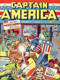 Propaganda in American Comics, Captain America