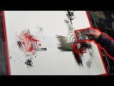 How to paint an abstract painting in ACRYLIC | Framecode - YouTube