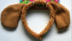 Puppy Costumes for Girls | ... Dog Ears Kids Headband Girls Boys Childrens Party Costume Fancy Dress