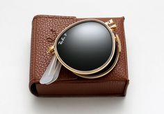 "RAY-BAN – ""Round Folding Frame"" (Sunglasses) « The Hype BR"