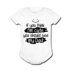 FUNNY BABY ONESIES  Cute Unique and Cool Babysuit for by GIFTITI, $15.99