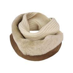 Ugg Combo Eternity Chestnut Multi Scarf (765 MYR) ❤ liked on Polyvore featuring accessories, scarves, women, tube scarves, loop scarf, loop scarves, infinity loop scarves and infinity scarf