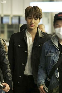 Kai at the Japanese airport Sehun, Exo Kai, Ko Ko Bop, Gumiho, Exo Korean, Kim Minseok, Kaisoo, Exo Members, Taemin