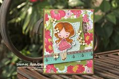 The Greeting Farm image...card with This and That Collection by Echo Park by Sharon...The Night Owl Scrapper...